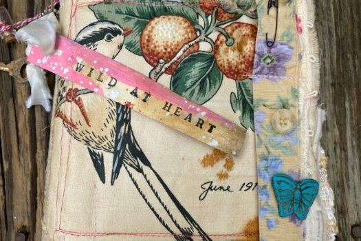 Wild At Heart: art/junk journal