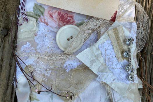 """""""Rose No. 32"""" art/junk journal (SOLD)"""