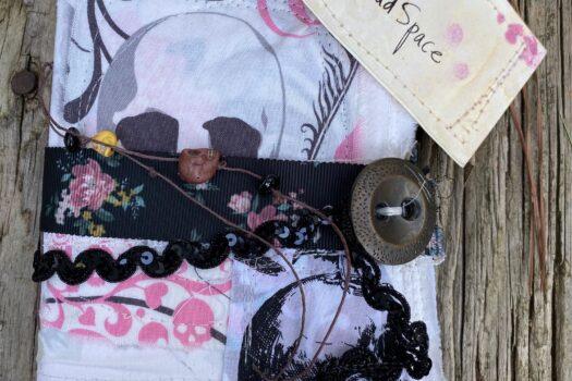 """Head Space"" art/junk journal (SOLD)"