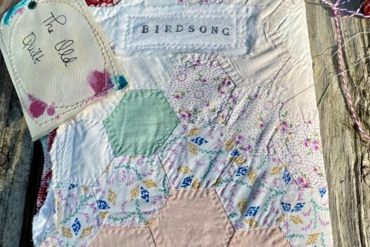 """Old Quilt"" Art Journal (SOLD)"