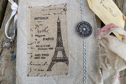 """""""Les Mis"""" art/junk journal (SOLD)"""
