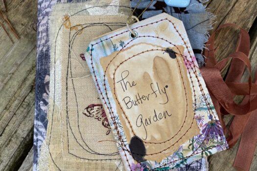 The Butterfly Garden (medium) junk journal (SOLD)