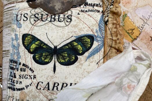 The Butterfly Garden (large) junk journal (SOLD)