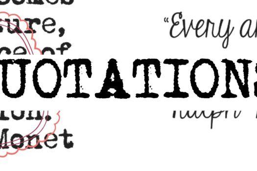 FREE Printable Page of Quotations