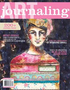 Art Journaling magazine Jul Aug Sept 2021