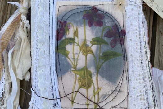 The Bohemian Flower Girl junk journal (SOLD)