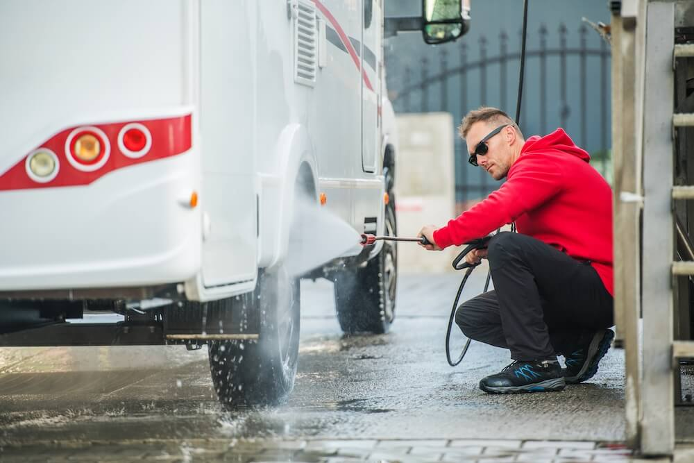 Exterior Cleaning and Protection for Your RV