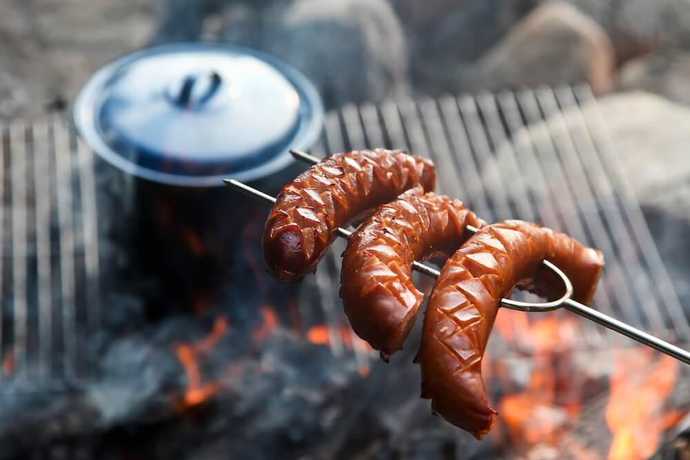Tips for cooking over a campfire