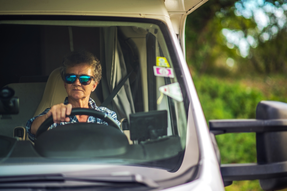 Driving Tips for Large Motorhomes