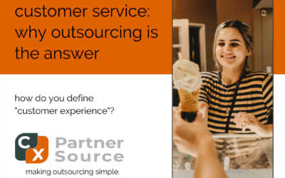 customer service: why outsourcing is the answer