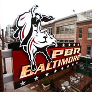 PBR Cowboy Bar, Baltimore, MD, Powerplant Live! by UrbanBuilt