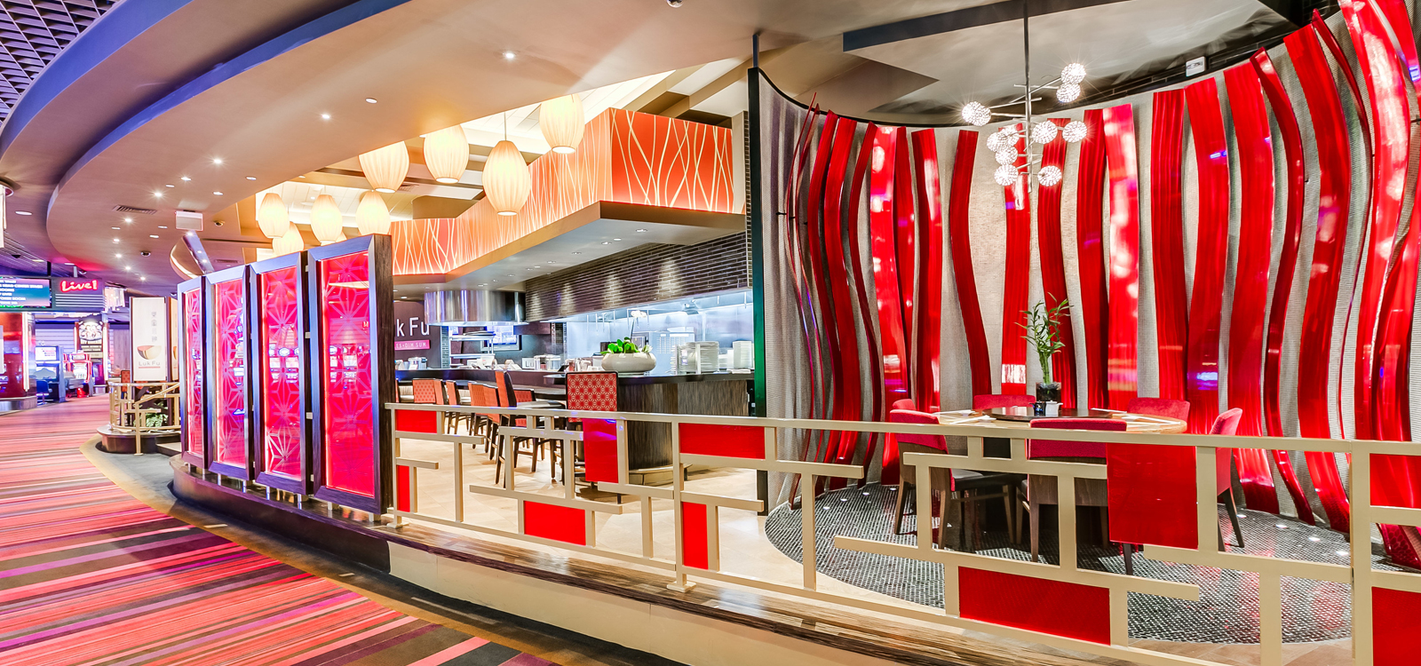 8 at Luk Fu, Maryland Live Casino, Baltimore MD, commercial renovation by UrbanBuilt