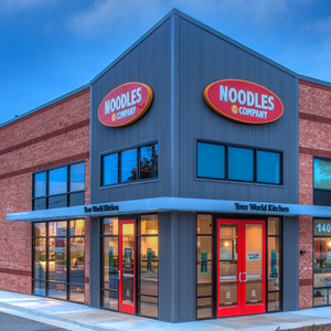 Noodles & Company locations by UrbanBuilt