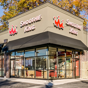 Smoothie King, Baltimore, MD commercial renovation by UrbanBuilt