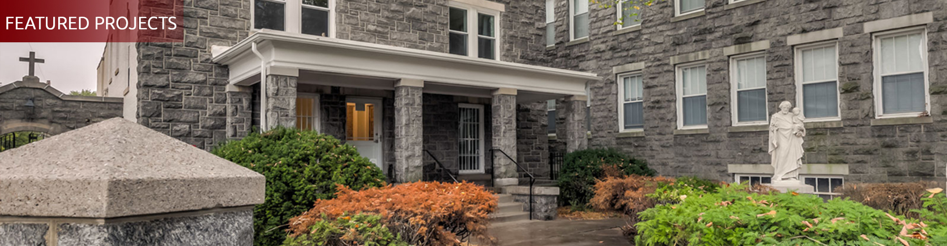 Blessed Sacrament Rectory renovation for Marian House, Baltimore MD, by UrbanBuilt