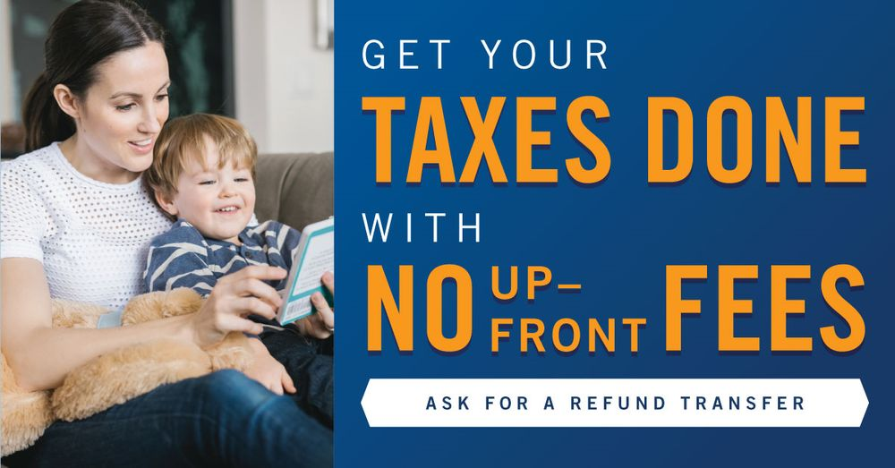 get taxes done no fees