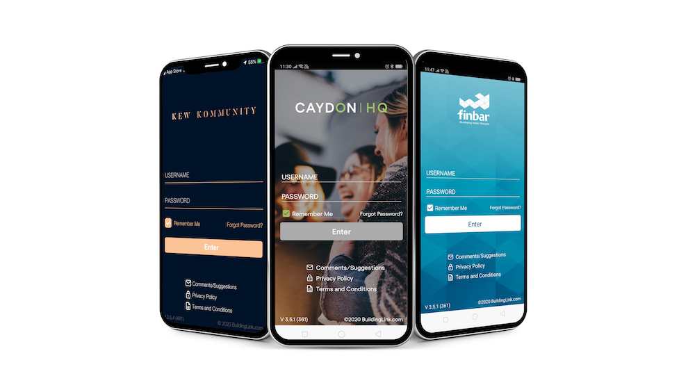 BuildingLink App Customisation