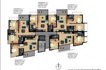 Level 2 & 3 floor plan