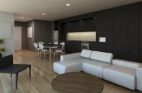 Pent Apartment Interior