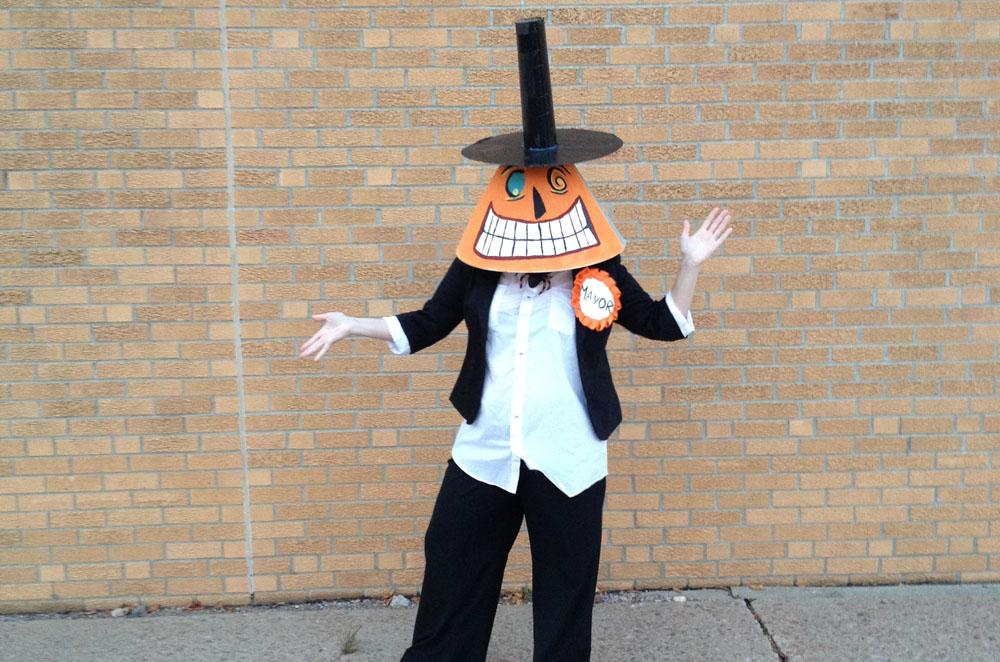 Mayor of Halloween Town Nightmare Before Christmas