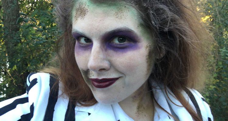 diy beetle-juice costume
