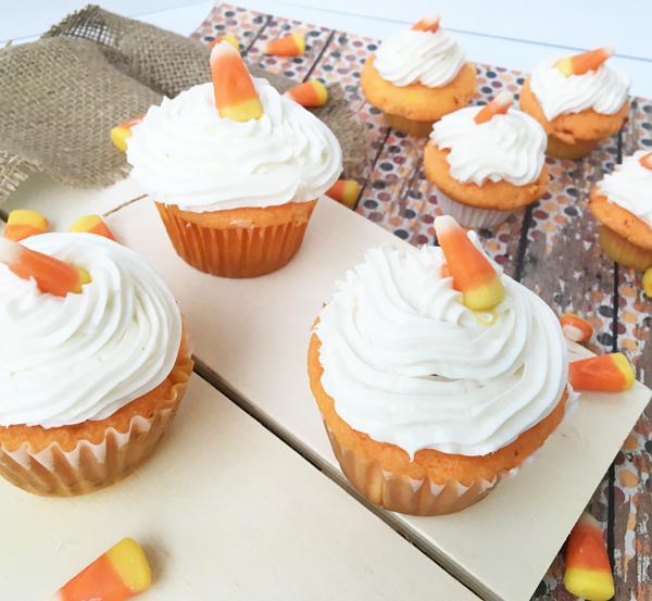 Candy corn cupcake decoration tutorial