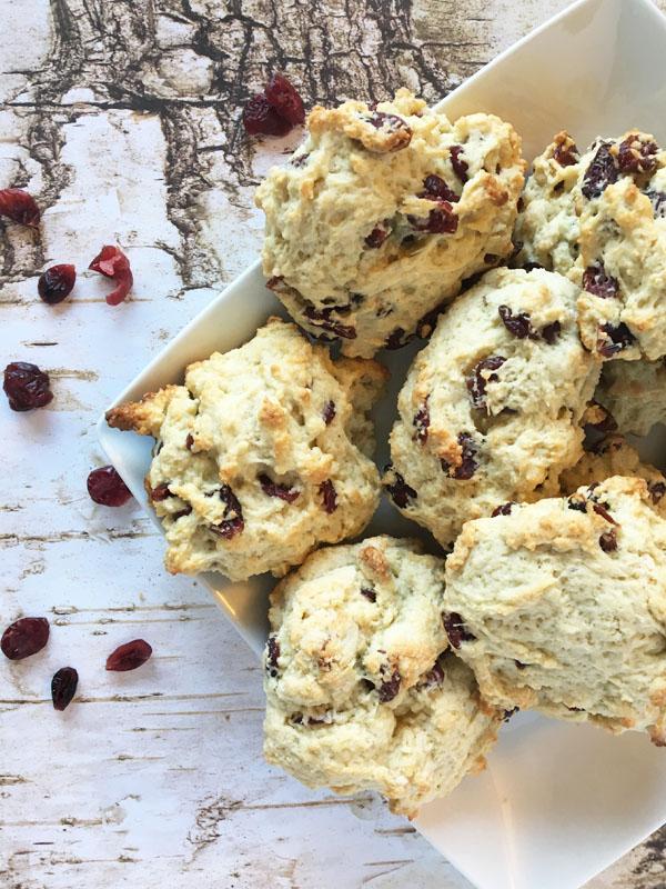 Cranberry Lemon Scones - Hagrids rock cakes1