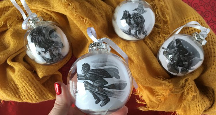 Harry potter chapter ornaments