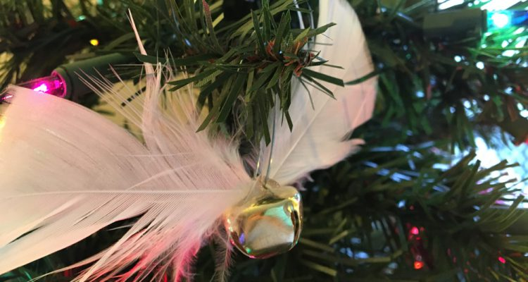 Jingle bell Snitch ornament