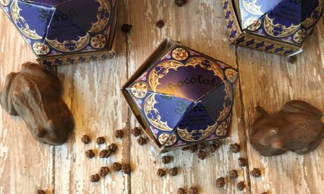 Harry Potter chocolate frog feature