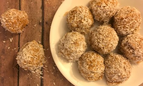 orange snowball cookies Bosnian Kuglice