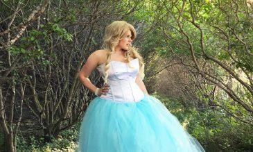Alice wedding dress tutorial feature