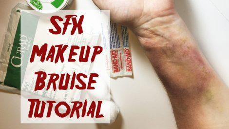 Bruise makeup tutorial Feature