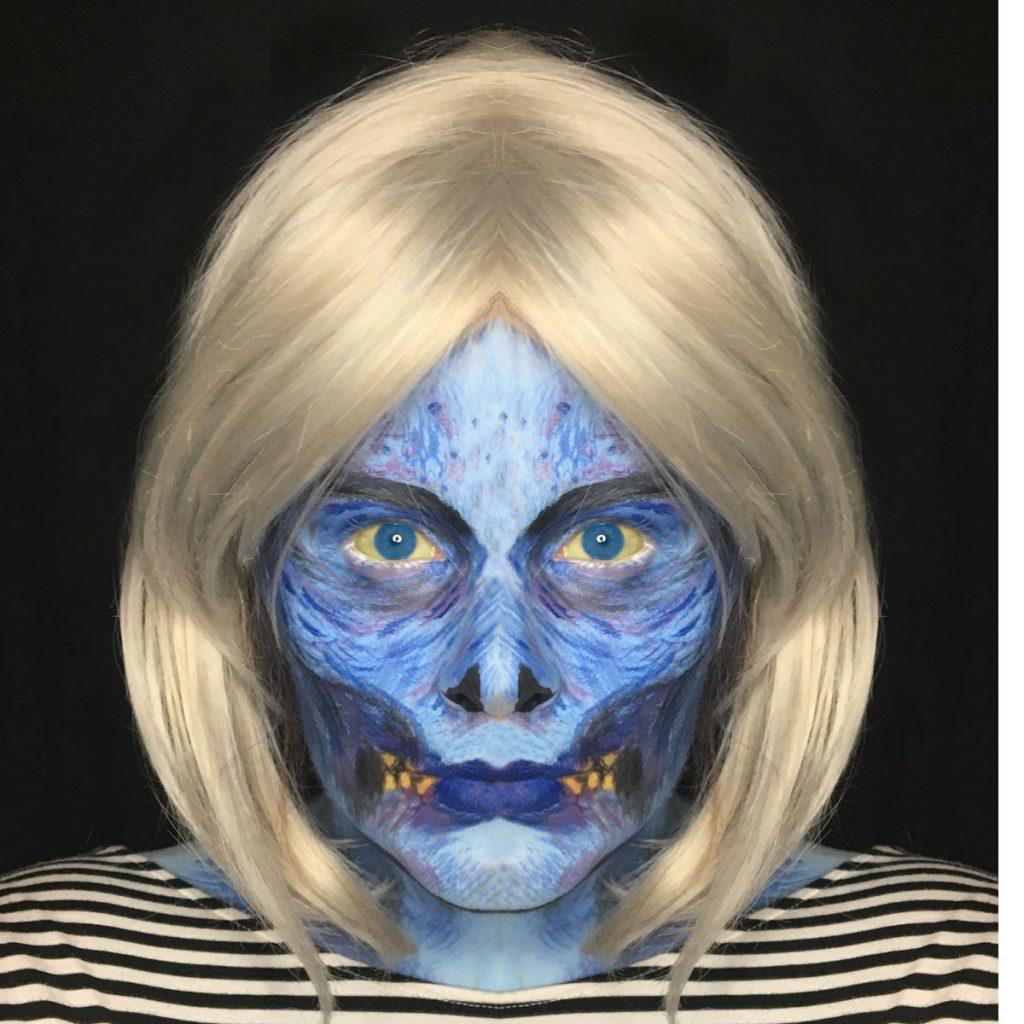 Gwen Dylan izombie face mirrored