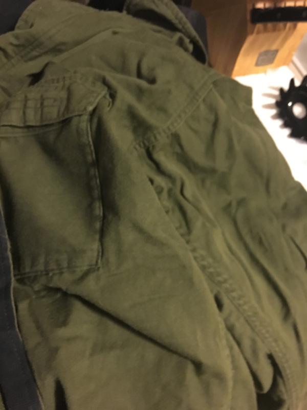 chemical jacket