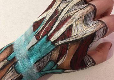 hand anatomy makeup feature