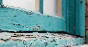 deteriorated lead paint
