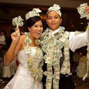 wedding money dance, wedding dj, wedding fun