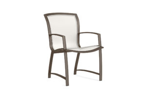 Brown Jordan Wave Flex sling arm chair