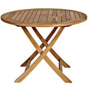 Three Birds Cambridge 40 inch folding table