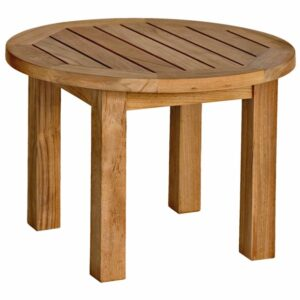 Three Birds Canterbury low round side table