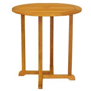 Three Birds Oxford Round Bar Table