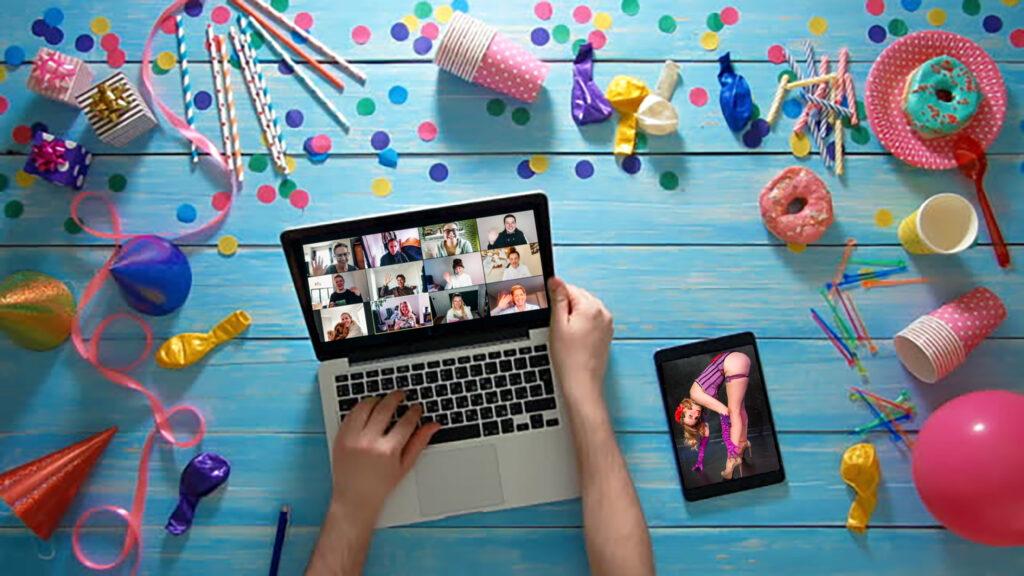 Virtual Burlesque Party