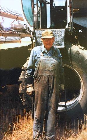 Weldon Barnes Harvest 2001