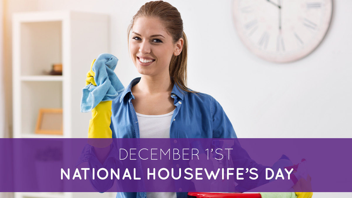 December 1st National housewife's day