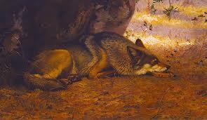 """The Sleeping Wolf""  Ernest Thompson Seton"
