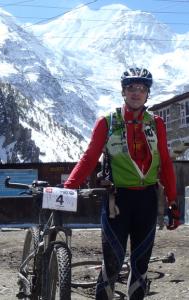 Carl Gable in Manang, Nepal