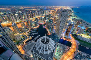 """Dubai, the first city on the Persian Gulf to experience """"intolerable"""" heat?"""