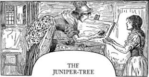 """The Juniper Tree"" Illustration by Louis Rhodes"
