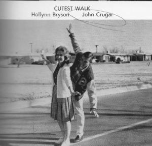 "HolLynn, Girl with the ""Cutest Walk"""
